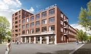 So hatte sich die HRS ein Hotel im WerkZwei einst vorgestellt. (Bild: PD)