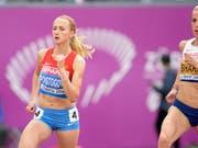 Jekaterina Poistogowa erhält Olympia-Silber (Bild: KEYSTONE/JEAN-CHRISTOPHE BOTT)