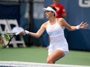 Für Belinda Bencic bedeuteten die Viertelfinals in Washington Endstation (Bild: KEYSTONE/FR67404 AP/NICK WASS)