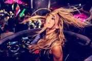 DJ Tanja la Croix wird am Samstagabend im Party-Dome auflegen. (Bild: PD)