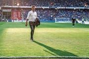 Sportchef Alain Sutter: «Der super Saisonstart hat uns gutgetan. Wir müssen aber realistisch bleiben.» (Bild: Andy Müller/Freshfocus)
