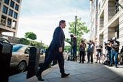 Trumps Ex-Wahlkampfmanager Paul Manafort. Bild: Sarah Silbiger/CQ (Washington, 14. Juni 2018)