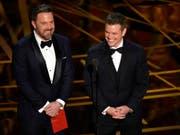 Nach Oscar zu «Good Will Hunting»: Ben Affleck (links) und Matt Damon (rechts) starten ein neues gemeinsames Filmprojekt. (Bild: KEYSTONE/AP Invision/CHRIS PIZZELLO)