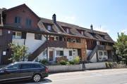 Der «Landbau» ist der älteste bekannte Arbeiterwohnungsbau dieses Typs in der Schweiz. (Bild: Larissa Flammer)