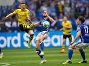 Marco Reus (links) führt Borussia Dortmund als Captain in die Bundesliga-Saison 2018/19 (Bild: KEYSTONE/AP/MARTIN MEISSNER)