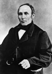 Gründervater Christian Fischbacher I. (Bild: PD)