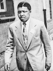 Ein Grosser des 20. Jahrhunderts: Nelson Mandela 1961, kurz vor seinem 27 Jahre dauernden Gefängnisaufenthalt. (Bild: AP)