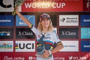 Jolanda Neff möchte auch in Lenzerheide an der Weltmeisterschaft reüssieren. (Bild: Archiv)
