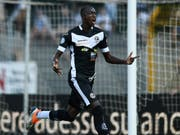 Verstärkt den Angriff des FC Zürich: Assan Ceesay wechselt von Lugano an die Limmat (Bild: KEYSTONE/TI-PRESS/GABRIELE PUTZU)