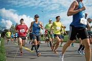Rund 3700 Läuferinnen und Läufer werden dieses Jahr erwartet. (Bild: Roger Zbinden (Sarnen, 3. September 2017))