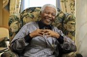 Nelson Mandela 2008. (Bild: Dylan Martinez/AP)