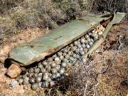 Streubomben mit nicht explodierter Submunition fordern immer wieder Opfer unter der Zivilbevölkerung. (Bild: KEYSTONE/AP/MOHAMMED ZAATARI)