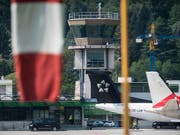 Alternative gesucht: Von Lugano aus sollen trotz der Betriebseinstellung von SkyWork Flugzeuge in Richtung Genf abheben. (Bild: KEYSTONE/TI-PRESS/ALESSANDRO CRINARI)