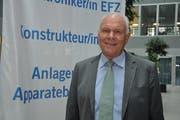 Hans Hess ist Vizepräsident von Economiesuisse und Präsident Swissmem; er kommt am 4. September nach Weinfelden. (Bild: PD)