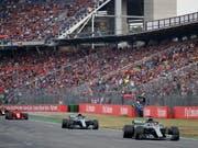 Der Formel-1-Zirkus rast auch 2019 durchs Motodrom auf dem Hockenheimring (Bild: KEYSTONE/EPA/VALDRIN XHEMAJ)