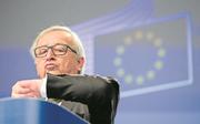 EU-Kommissionspräsident Jean-Claude Juncker zur neuen Zeitregelung: «Die Menschen wollen das, wir machen das.»Archivbild: Virginia Mayo/AP (Brüssel, 21. Februar 2018)