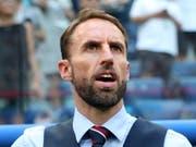 Englands Nationaltrainer Gareth Southgate zählt im Testspiel gegen die Schweiz mehrheitlich auf Akteure, die im Sommer an der WM bis in die Halbfinals vorstiessen (Bild: KEYSTONE/EPA/GEORGI LICOVSKI)