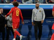 Thierry Henry bleibt dem belgischen Nationalteam erhalten (Bild: KEYSTONE/AP/PETR DAVID JOSEK)