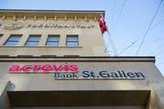 Der Hauptsitz der Acrevis Bank in St.Gallen. (Bild: Urs Bucher)