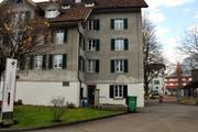 Das Wohnhaus Mettenweg in Stans. (Bild: Oliver Mattmann, 21. November 2014)