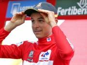Rudy Molard bleibt einen weiteren Tag Leader der Vuelta (Bild: KEYSTONE/EPA EFE/MANUEL BRUQUE)