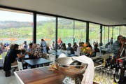 Das Restaurant Seefeld bei der Eröffnung im Jahr 2011. (Archivbild: Markus von Rotz)