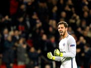 Kevin Trapp was last on PSG only goalkeeper number 3 (Image: KEYSTONE / EPA / ETIENNE LAURENT)