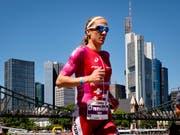 Daniela Ryf kann sich an der 70.3 Ironman-WM zum vierten Mal zur Weltmeisterin krönen (Bild: KEYSTONE/AP/MICHAEL PROBST)