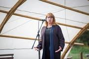 Petra Köpping zum Erstarken der AfD: «Das macht mir Sorgen.» Bild: S. Ellger/imago (Dresden, 19. September 2017)