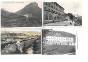 Postkartenansicht des Kurhotels Schimberg-Bad. (Bild: Privatbesitz Guido Schumacher)