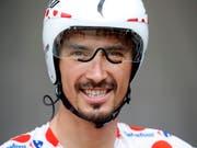 Julian Alaphilippe triumphierte im Baskenland (Bild: KEYSTONE/EPA/SEBASTIEN NOGIER)
