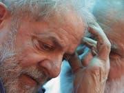 Ein Verurteilter soll Brasiliens nächster Präsident werden: Luiz Inácio Lula da Silva, Kandidat der Arbeiterpartei. (Bild: KEYSTONE/AP/ERALDO PERES)