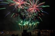 Nicht alle freuen sich über Feuerwerk zum Nationalfeiertag. (Georgios Kefalas/Keystone)