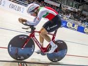 Claudio Imhof fuhr an einem Spitzenplatz vorbei (Bild: KEYSTONE/AP dpa/JENS BUETTNER)
