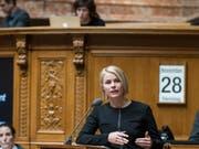 SVP-Nationalrätin Natalie Rickli will für einen Sitz in der Zürcher Kantonsregierung kandidieren. (Bild: KEYSTONE/ALESSANDRO DELLA VALLE)