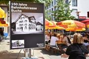 Bilder aus dem Archiv von Hansruedi Rohrer verdeutlichen den Wandel, den die Bahnhofstrasse in 150 Jahren durchgemacht hat.