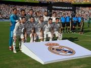 Real Madrid vor dem Spiel gegen Juventus auf US-Boden (Bild: KEYSTONE/FR67404 AP/NICK WASS)