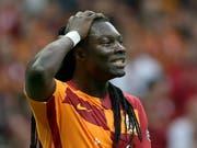 Bafetimbi Gomis' Fehlversuch im Penaltyschiessen entscheidet den türkischen Supercup zu Ungunsten von Galatasaray (Bild: KEYSTONE/EPA/ERDEM SAHIN)