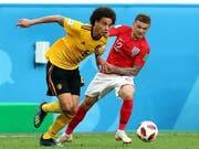 Trägt neu auch bei seinem Klub Gelb: Belgiens Nationalspieler Axel Witsel wechselt nach Dortmund (Bild: KEYSTONE/EPA/GEORGI LICOVSKI)