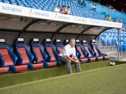 Marcel Koller will mit dem FC Basel in die Europa League (Bild: KEYSTONE/MELANIE DUCHENE)