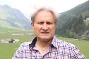 Beat Tschümperlin hat das Älpler-Wunschkonzert bereits zum 15. Mal moderiert. (Bild: Paul Gwerder (Urnerboden, 6. August 2018))