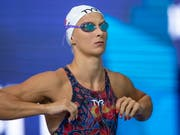 Maria Ugolkova erreichte auch mit der Schweizer 4x100-m-Mixedstaffel in Glasgow den EM-Final (Bild: KEYSTONE/EPA/PATRICK B. KRAEMER)
