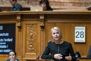 Natalie Rickli sitzt seit 2007 im Nationalrat. (Bild: Alessandro della Valle/Keystone)