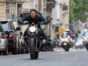 Tom Cruise trifft mit seinem neuen Film «Mission: Impossible - Fallout.» den Geschmack des Kinopublikums in Nordamerika. (Bild: KEYSTONE/AP Paramount Pictures/CHIABELLA JAMES)