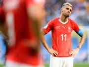 Valon Behrami wird nicht mehr für die Schweizer Nationalmannschaft auflaufen (Bild: KEYSTONE/LAURENT GILLIERON)