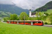 """Der """"Walzer"""" bei der Testfahrt in Schwende. (Bild: pd)"""
