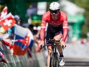 Der Schweizer Radprofi Gregory Rast beendet seine Karriere (Bild: KEYSTONE/ALEXANDRA WEY)