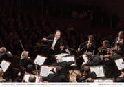 Nach dem Gratisvorkonzert eröffnen Riccardo Chailly und das Lucerne Festival Orchestra das Festival.LF/Peter Fischli