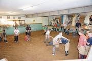 Der Schwingkeller wird mit dem Schulhaus Wier abgebrochen und in der neuen Schulanlage wieder eröffnet. (Bild: Pascal Schönenberger)