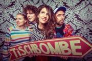 Machen Lieder für Kinder: die Band Tischbombe. (Bild: PD)